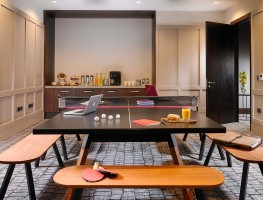 Ayrshire Suite with Ping Pong table in the Red Cow Moran Hotel