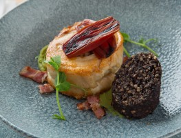 Tom's Table - Pork belly with black pudding