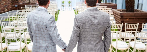 Civil Ceremony - LGBT Wedding at the Red Cow Moran Hotel