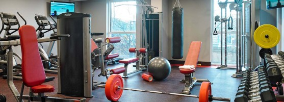 State-of-the-art Fitness Suite at the Red Cow Moran Hotel